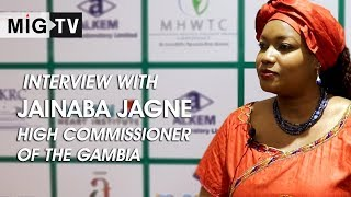 Interview with Jainaba Jagne | High Commissioner of The Gambia