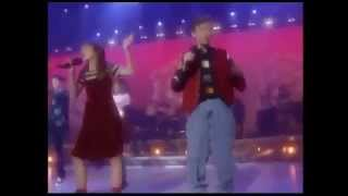 Britney Spears & Justin Timberlake - I Feel For You ( Live on MMC 1993 ) HQ