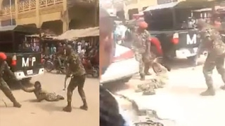 Soldiers Allegedly Brutalise Physically Challenged Man - The Inhumanity