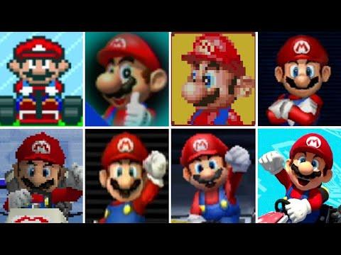 Generate Evolution of All Characters in Mario Kart Games (1992-2017) Screenshots