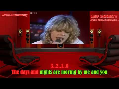 Karaoke - Leif Garrett - I Was Made For Dancing (DISCO 1979)
