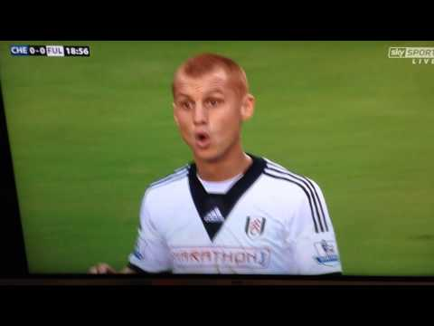Surprised Steve Sidwell