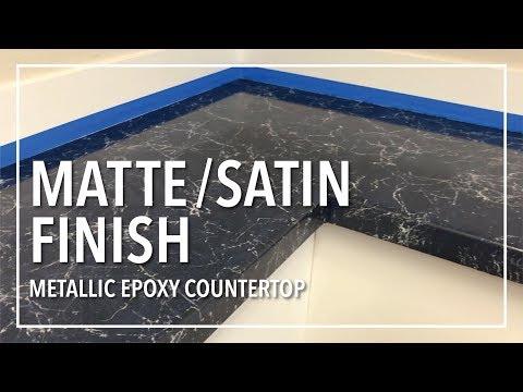 Matte/Satin Finish | Top Coat Option