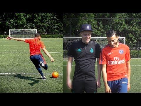 CROSSBAR VAN DE MIDDENLIJN 😱 - TOUZANI VS MATTHY ( FIFALOSOPHY )