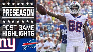 Giants vs. Bills | Game Highlights | NFL