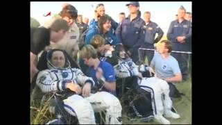 International Space Station Expedition 43 Crew Lands Safely in Kazakhstan