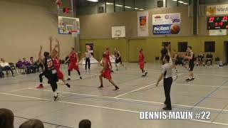 DENNIS MAVIN GIESSEN 46ERS OFFICIAL 17-18 HIGHLIGHT TAPE