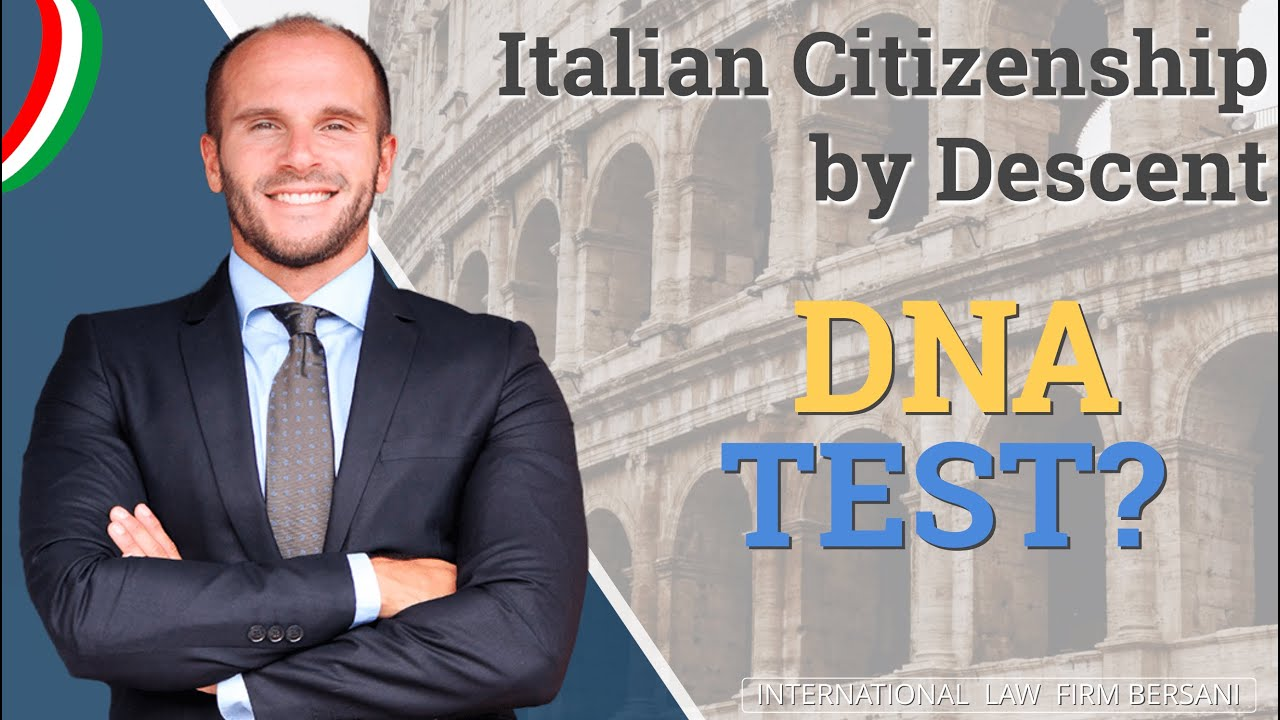 Italian Citizenship By Descent: DNA TEST for Italian ...