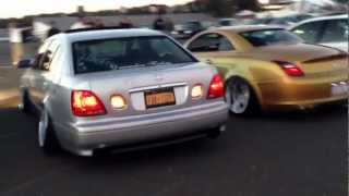 Liberty VIP Cars Line Up at Black 3 in Englishtown New Jersey
