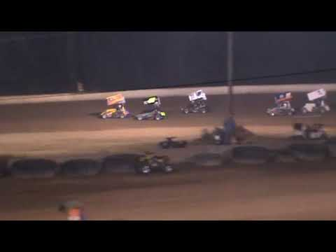 GVAT 2009 Wild 270 Micro Sprint flip at Greenwood valley action tracks