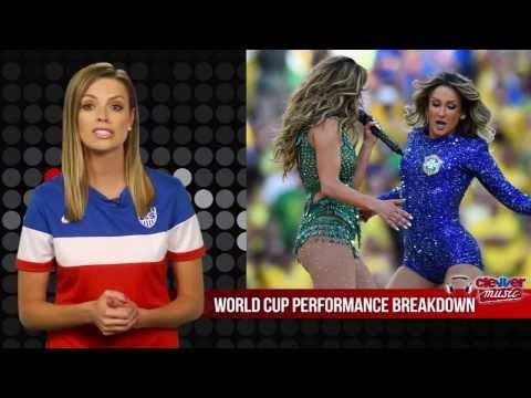 Opening Ceremony World Cup 2014  By Jennifer Lopez & Pitbull