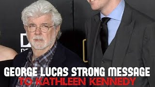 GEORGE LUCAS REACTION TO SOLO A STAR WARS STORY