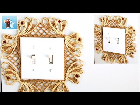 Home Decor from Jute | Art and Craft Ideas| Handcraft
