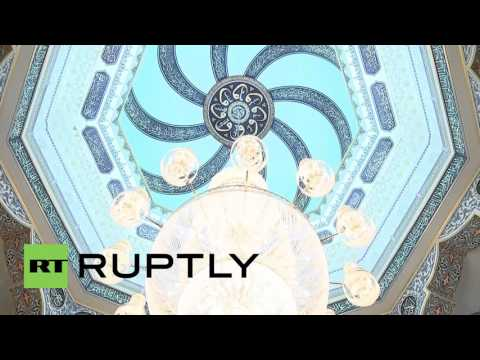 Russia: Grand Mufti Gaynetdin shows Putin around new Moscow Cathedral Mosque