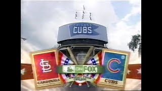 117 - Cardinals at Cubs - Saturday, August 9, 2008 - 2:55pm CDT - FOX