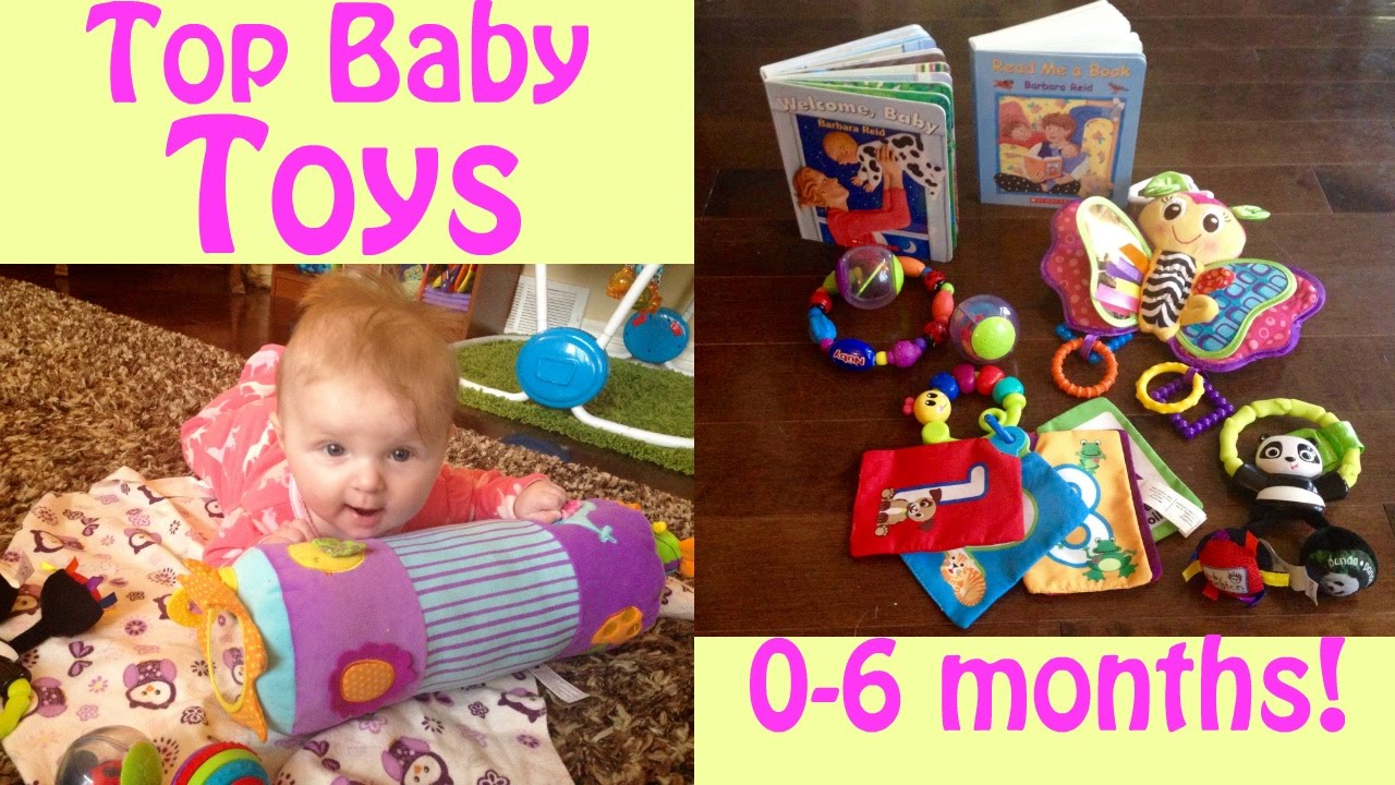 TOP BABY TOYS 0-6 MONTHS! - YouTube