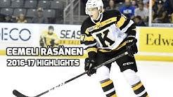 #77 Eemeli Räsänen | 2016-17 Season Highlights