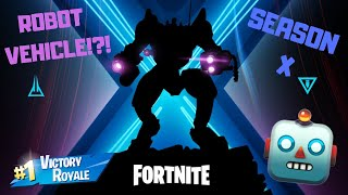 Season X Second Teaser was Announced! / Are we getting TITANS?! (Fortnite Battle Royale)
