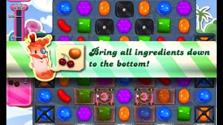 Candy Crush Saga Level 1639 walkthrough (no boosters)