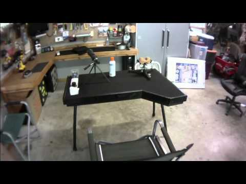 Home Made Portable Shooting Bench Youtube