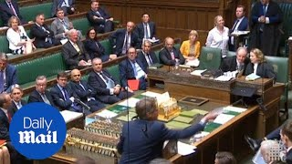House of Commons suspended after Brexit plans are not shown