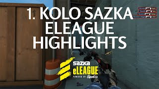sazka-eleague-cs-go-highlights-1-kolo