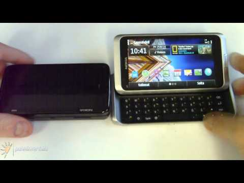 Nokia E7 vs Nokia N97 vs Nokia N900 hardware comparison