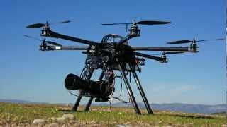 Carboncore H6 950 Hexacopter by Giatrakos.gr Hexateam