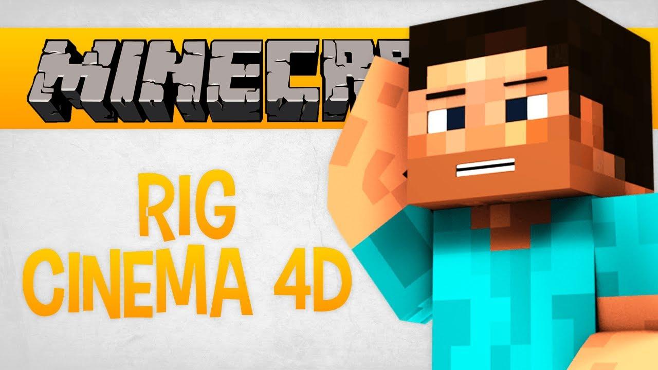 rig de minecraft para cinema 4d v deo download youtube. Black Bedroom Furniture Sets. Home Design Ideas