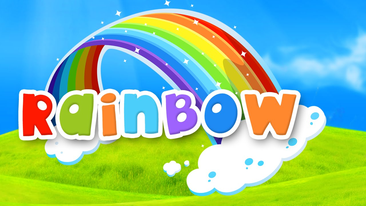 The Rainbow Colors Song English Nursery Rhymes Children Songs