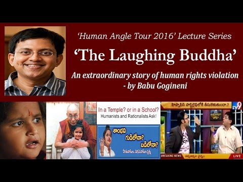 """The Laughing Buddha"" by Babu Gogineni. An extraordinary story of human rights violation."