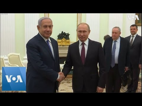 Israel's PM Netanyahu And Russia's President Putin On Recovery Of Soldier's Body