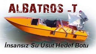 ALBATROS-T insansız hedef botu