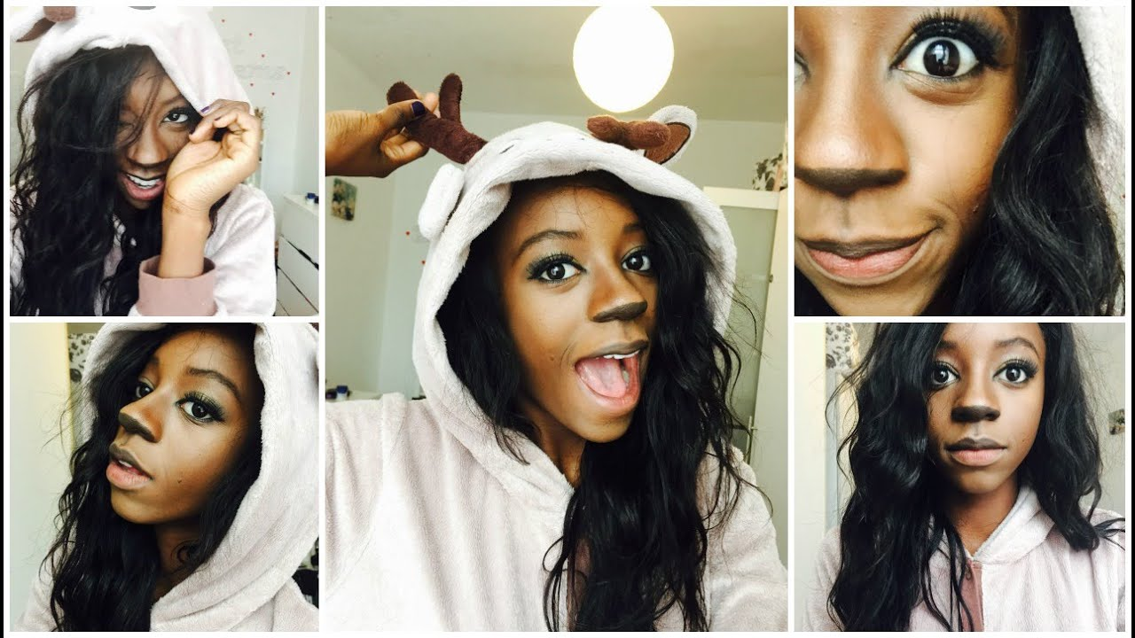 maxresdefault quick easy halloween costume bambi inspired part 2 youtube
