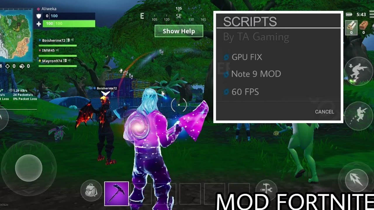 How To MOD Fortnite Mobile For Unsupported Devices - How To Fortnite GPU Fix