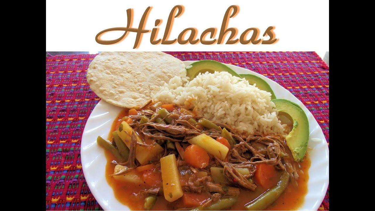 Receta de Hilachas Guatemala  YouTube