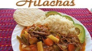 Receta de Hilachas Guatemala