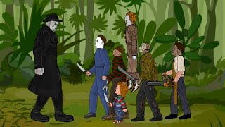 TYRANT Vs Jason Voorhees, Freddy Krueger, IT Pennywise, Michael Myers, Leatherface, Chucky