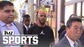 Chris Paul Tells Kobe Bryant to 'Keep Going Til You Have a Boy!' | TMZ Sports