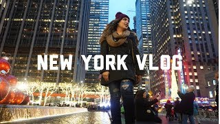 New York vlog -Holidays- Best food- Airbnb- MarinasTips
