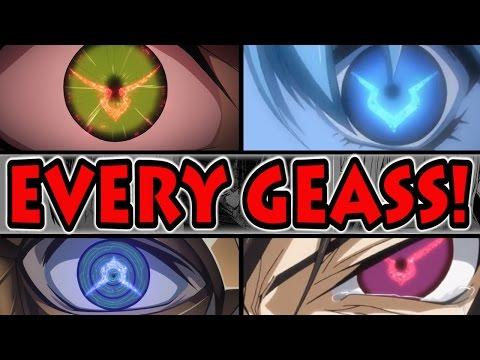 EVERY GEASS POWER EXPLAINED! (Code Geass Season 3 Essentials)