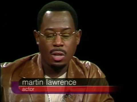 Martin Lawrence Job İnterview On Charlie Rose 2000 & Luther King Jr Speech İn Acceptance