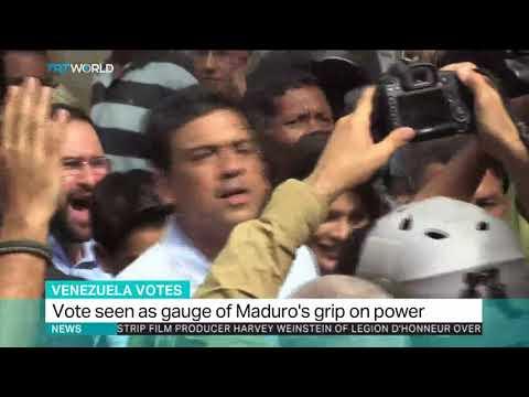 Venezuela holds nationwide gubernatorial elections