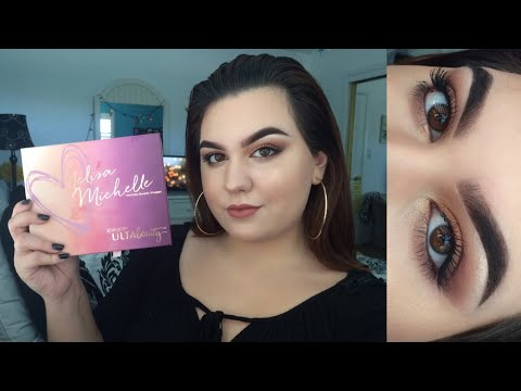 LoveMelisaMichelle X Ulta Beauty Palette: Tutorial Review & First Impressions ♡
