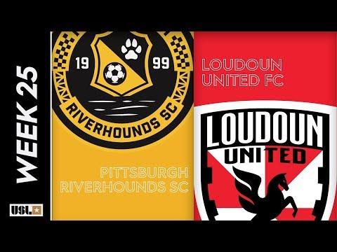 Pittsburgh Riverhounds SC vs. Loudoun United FC: August 23rd, 2019