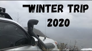 2020 Winter Overland Camṗing Trip with East Tennessee Overlanders