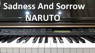 Hướng dẫn SADNESS AND SORROW - NARUTO | Piano Solo/cover Easy | Đinh Công Tú