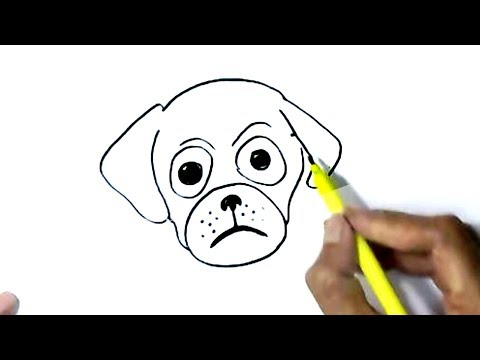 how-to-draw-dog-face-easy-steps,-step-by-step-for-children,-kids,-beginners