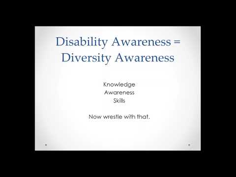 Raising Awareness and Developing Disability Cultural Competence in the Supervisory Relationship