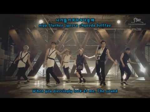 EXO - Growl (으르렁) MV Version 2 [Lyric romanization + hangul + english] w/ download link